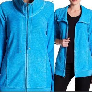 Tommy Bahama Knoll Full Zip Knit Jacket Blue M